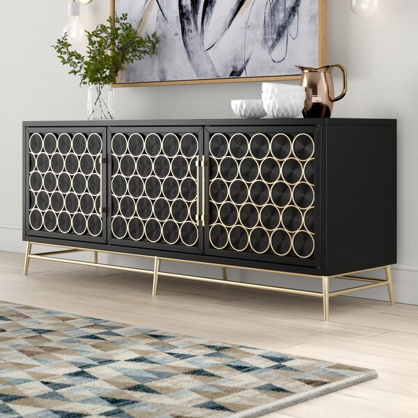 Rutland 3 Door Console Table by Brayden Studio