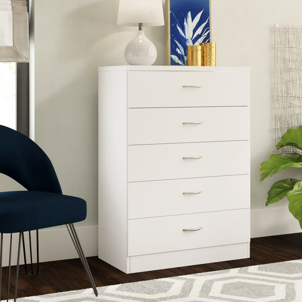 Nolette 5 Drawer Chest by Ebern Designs
