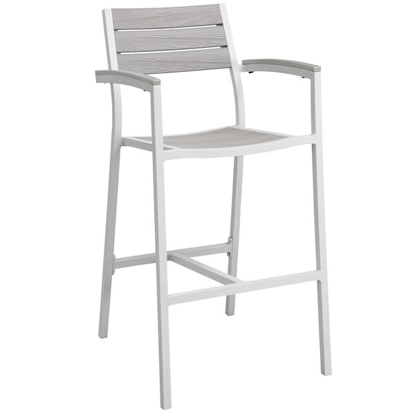 Ellport Patio Barstool by Latitude Run