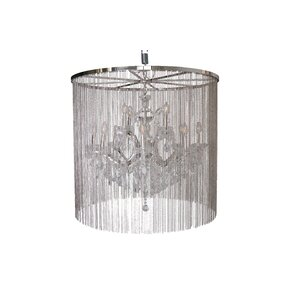 Cascata II 12-Light LED Waterfall Chandelier with Crystals