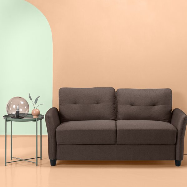 Helwig Contemporary Loveseat by Winston Porter