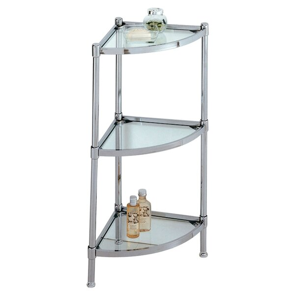 Eadie 13.25 W x 31 H Bathroom Shelf by Rebrilliant