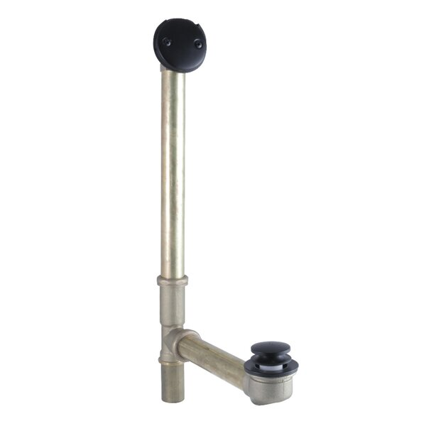 Bathtub Waste Leg Tub Drain with Overflow by Kingston Brass