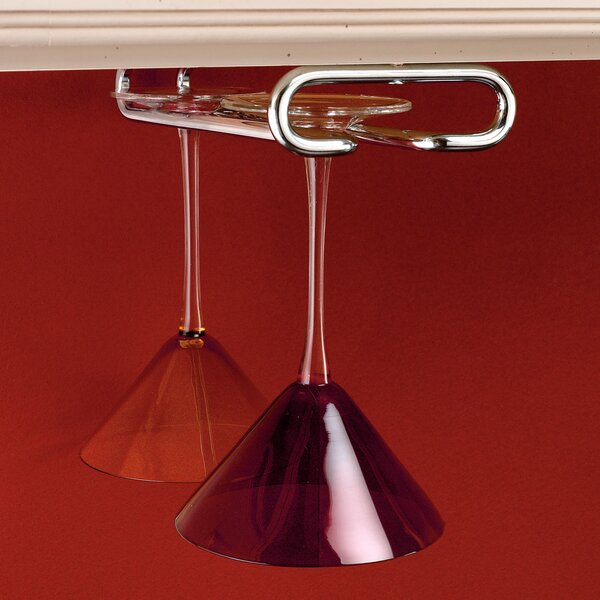 Hanging Wine Glass Rack by Rev-A-Shelf
