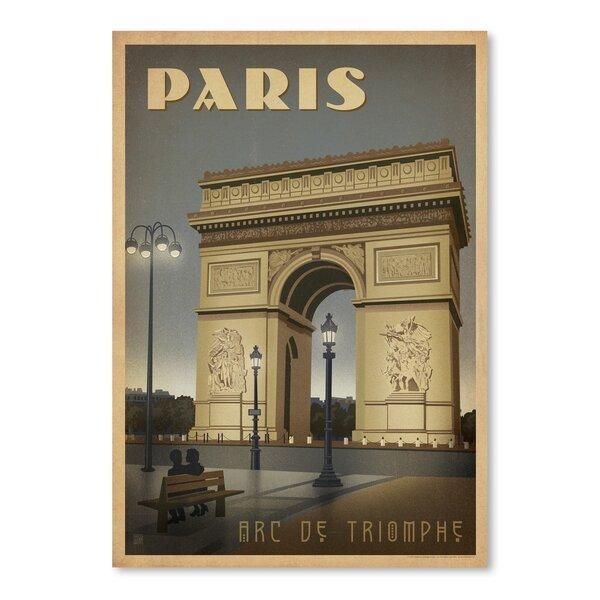 Paris ARC Vintage Advertisement by East Urban Home