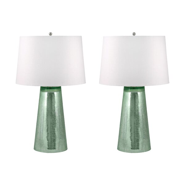 Cusack Mercury Glass 25 Table Lamp (Set of 2) by Brayden Studio