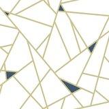 "Fannie Fracture 16.5' L x 20.5"" W Peel and Stick Wallpaper Roll"