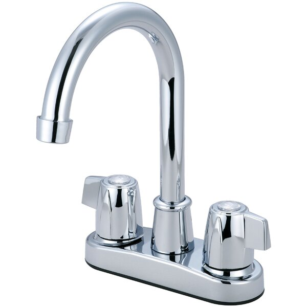 Double Handle Kitchen Faucet by Olympia Faucets Olympia Faucets