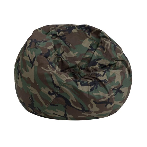 Camouflage Kids Bean Bag Chair by Zoomie Kids