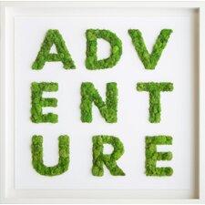 Adventure Moss Live Art Wall Décor