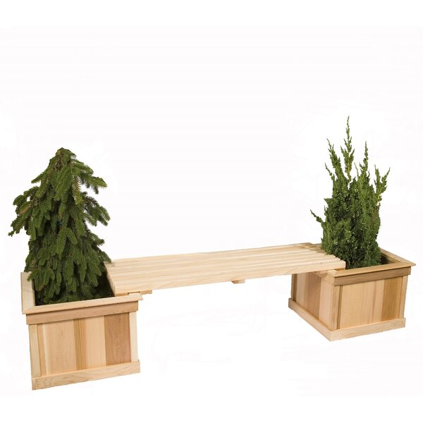 2-Piece Wood Planter Box Set by Baltic Leisure
