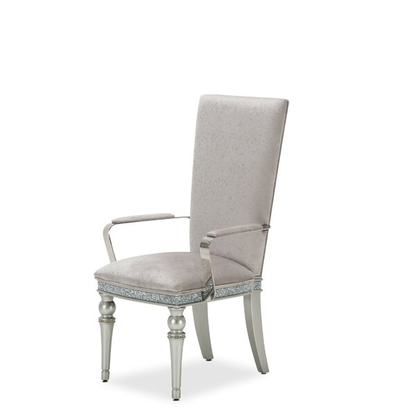 Melrose Plaza Upholstered Dining Chair By Michael Amini