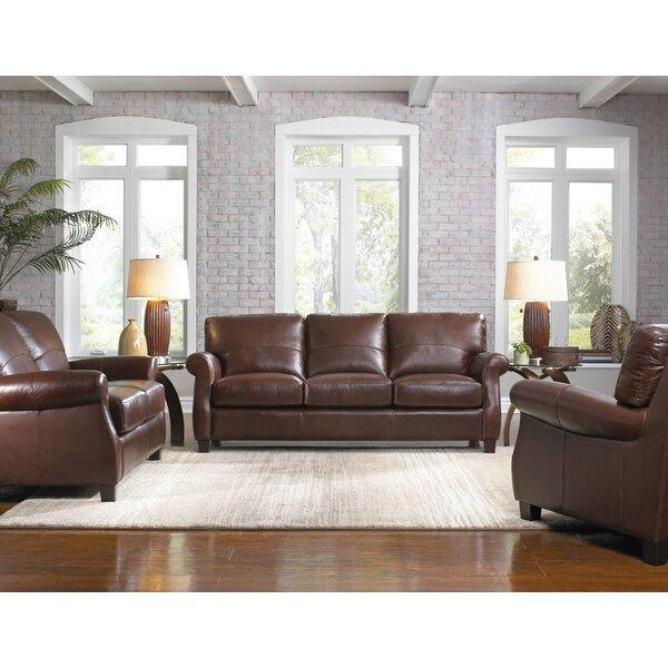 Lazzaro Leather Carlisle Configurable Living Room Set Reviews Wayfair