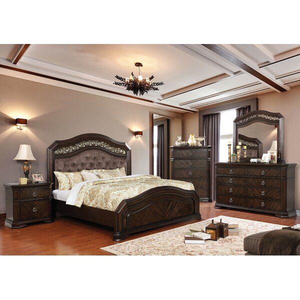 Rudisill Upholstered Panel Configurable Bedroom Set by Astoria Grand