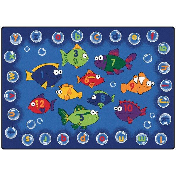 Camila Fishing Kids Area Rug by Zoomie Kids
