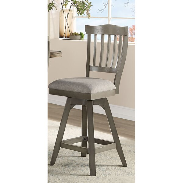 Cates Bar & Counter Swivel Stool (Set of 2) by One Allium Way