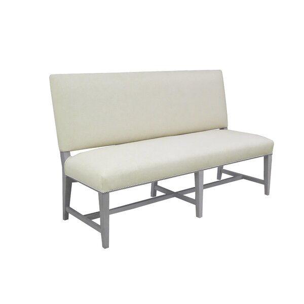 Soho Upholstered Bench by Montage Home Collection Montage Home Collection