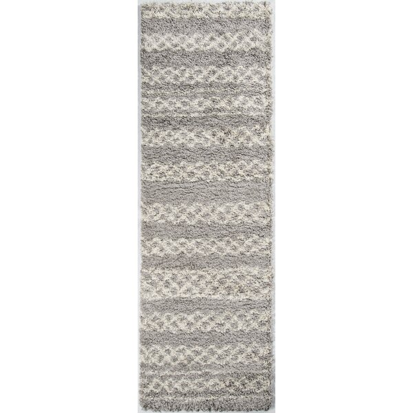 Damiane Gray Area Rug by Mistana