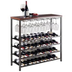 Michelle 40 Bottle Floor Wine Rack by Luxury Home
