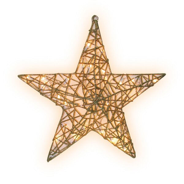 outdoor lighted christmas decorations youll love wayfair - Outdoor Christmas Star Decoration