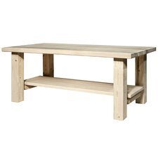 Abella Coffee Table with Shelf by Loon Peak