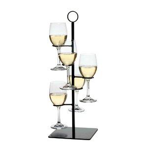 Gary Flight Server 5 Bottle Tabletop Wine Rack by Charlton Home