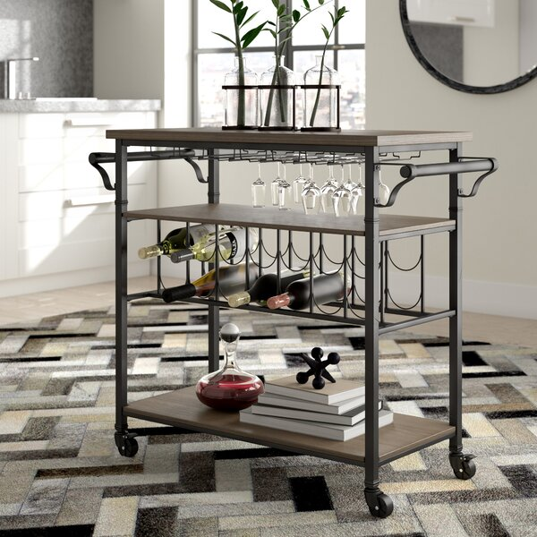 Knapp Wine Cart by Trent Austin Design