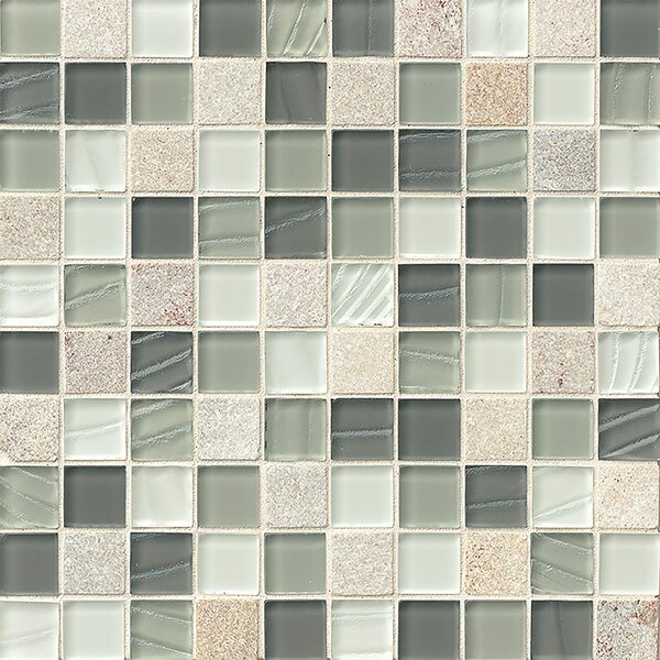 Queenstown 1-1/6 x 1-1/6 Mosaic Tile in Grey by Grayson Martin