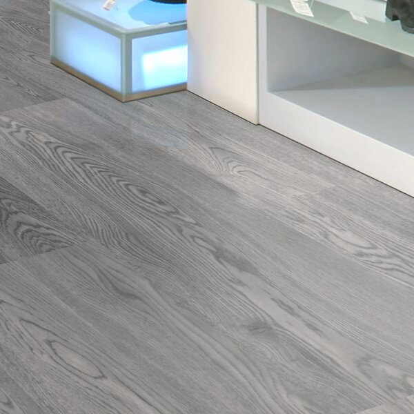13 x 37 x 8.3mm Vinyl Tile in Excelsior Gray by Floressence Surfaces