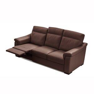 State Line Leather Reclining Sofa Latitude Run