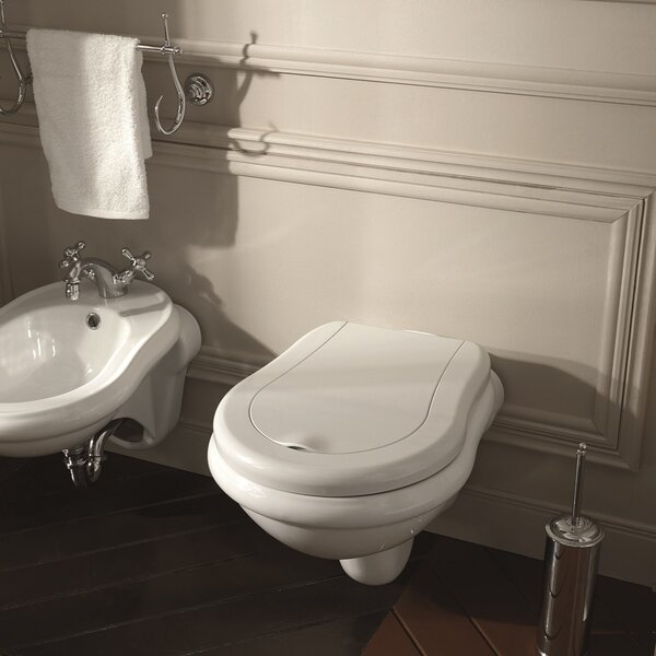 Retro Dual Flush Elongated Toilet Bowl by WS Bath Collections