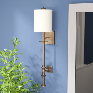 Comparison Amatrudo 1-Light Wall Sconce By Darby Home Co