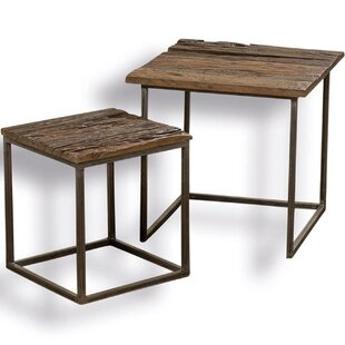Wilks 2 Piece Nesting Table Set