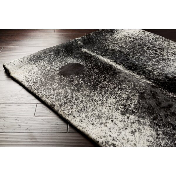 Snow Creek Gray Area Rug by Loon Peak