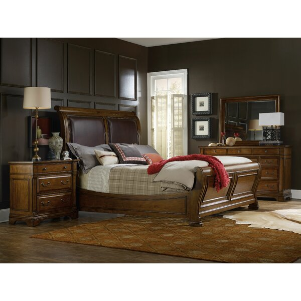 Tynecastle Sleigh Configurable Bedroom Set by Hooker Furniture