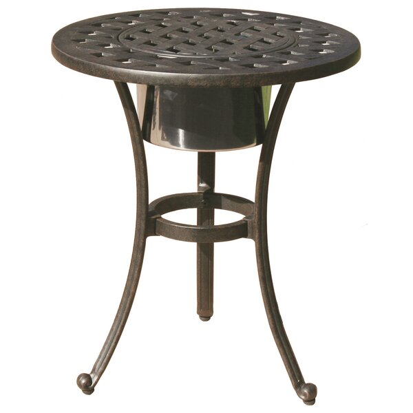 Mckinney Round Side Table by Astoria Grand