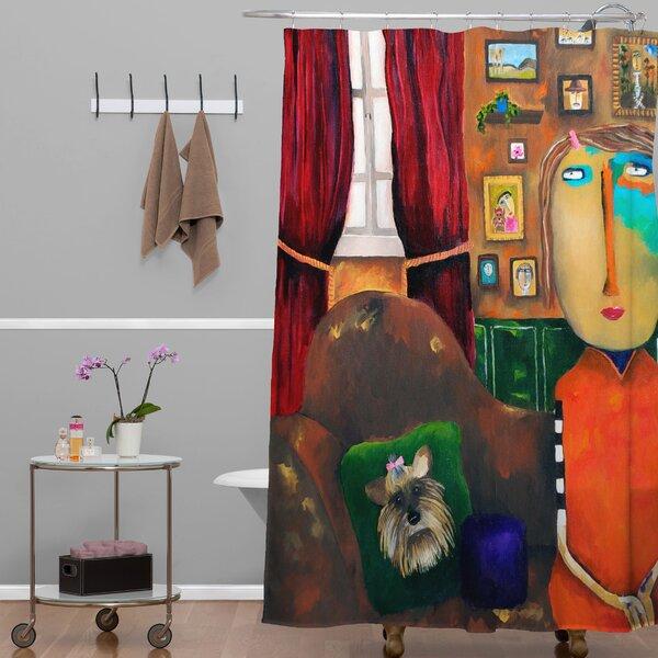 Robin Faye Gates Bebe Shower Curtain by Deny Designs