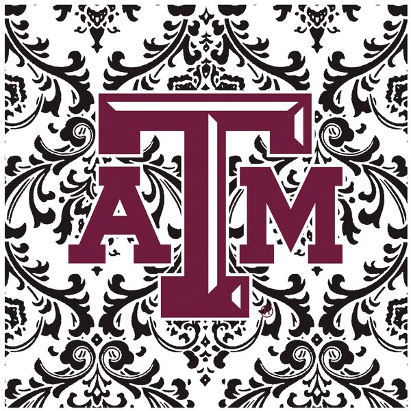 Texas A & M University Square Occasions Trivet by Thirstystone