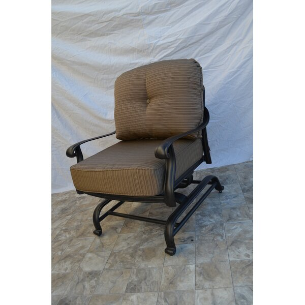 Kristy Patio Chair with Cushion by Darby Home Co