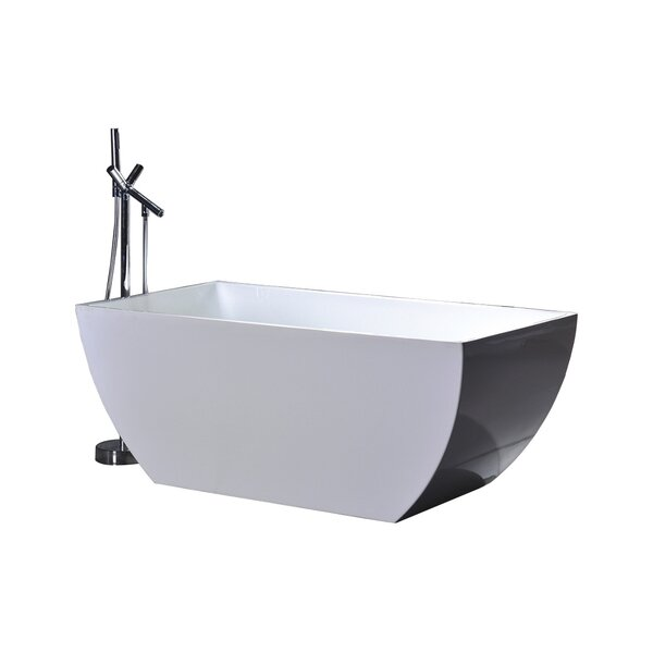 WE Series 67 x 31.5 Soaking Bathtub by Legion Furniture