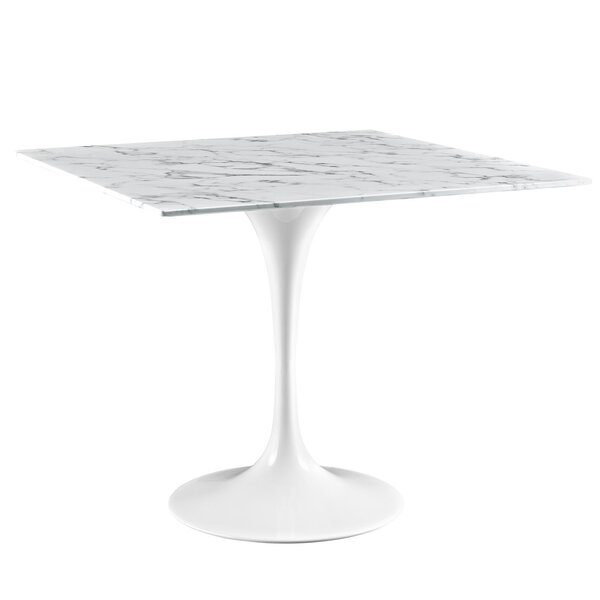 Julien 36 Artificial Marble Dining Table by Langley Street