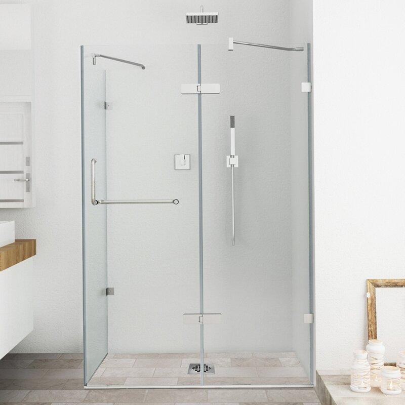 Superb Frameless Shower Enclosure With .375 In.