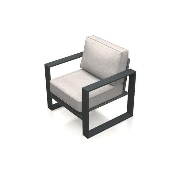 Portal Patio Chair with Cushion by Harmonia Living