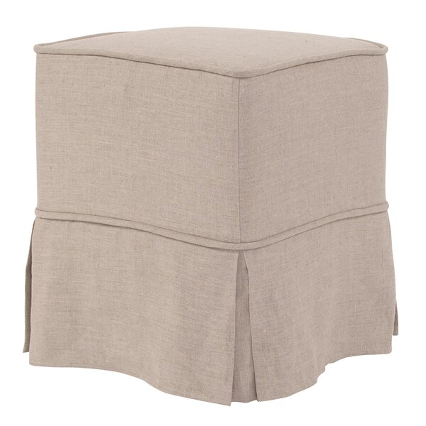 Cotton Ottoman Slipcover by Darby Home Co
