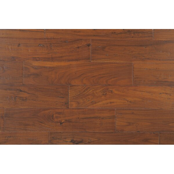Kensington 4-3/4 Engineered Acacia Hardwood Flooring in Golden Topaz by CFS Flooring