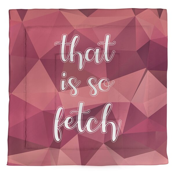 That Is So Fetch Single Reversible Comforter