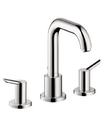 Focus S Two Handle Deck Mounted Roman Tub Faucet b