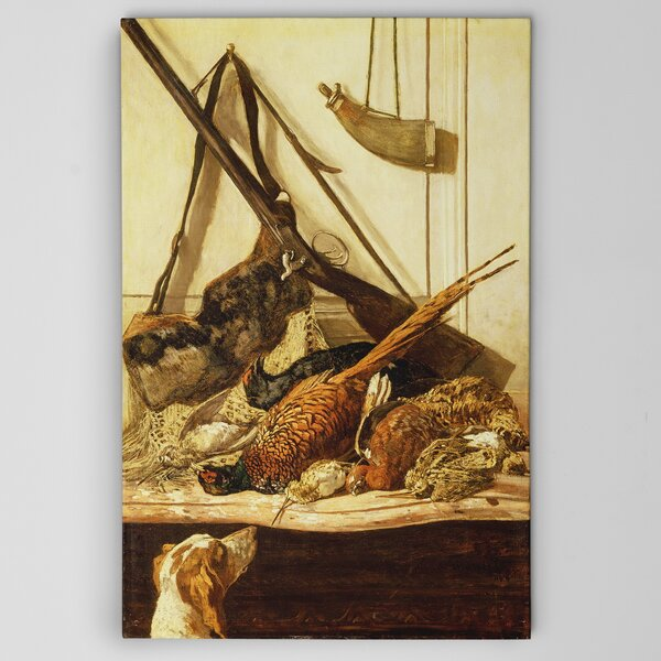 Hunting Trophies by Claude Monet Graphic Art on Wrapped Canvas by Wexford Home