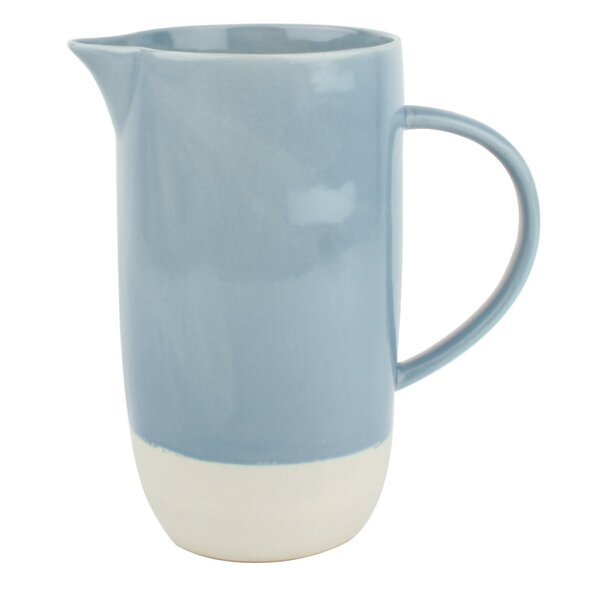 Shell Bisque 36oz Pitcher by Canvas Home