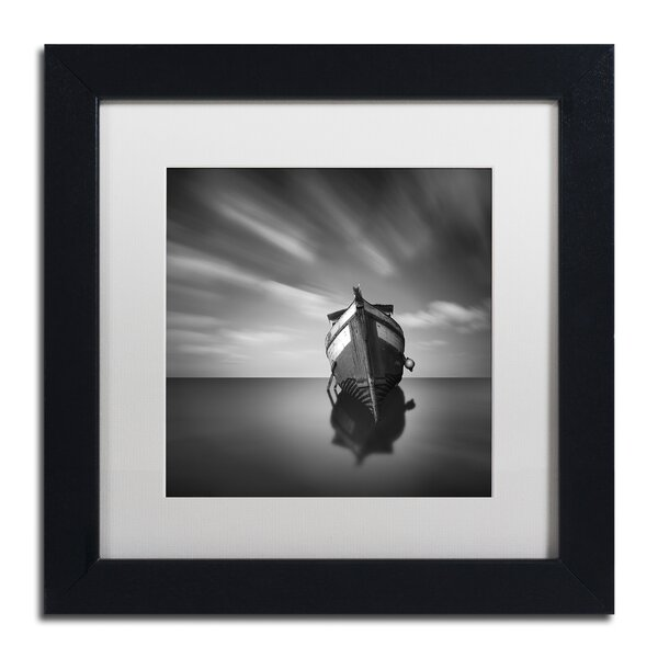 My Boat IV by Moises Levy Framed Photographic Print by Trademark Fine Art